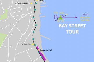 North Shore Staten Island Bike Tour    This Way on Bay