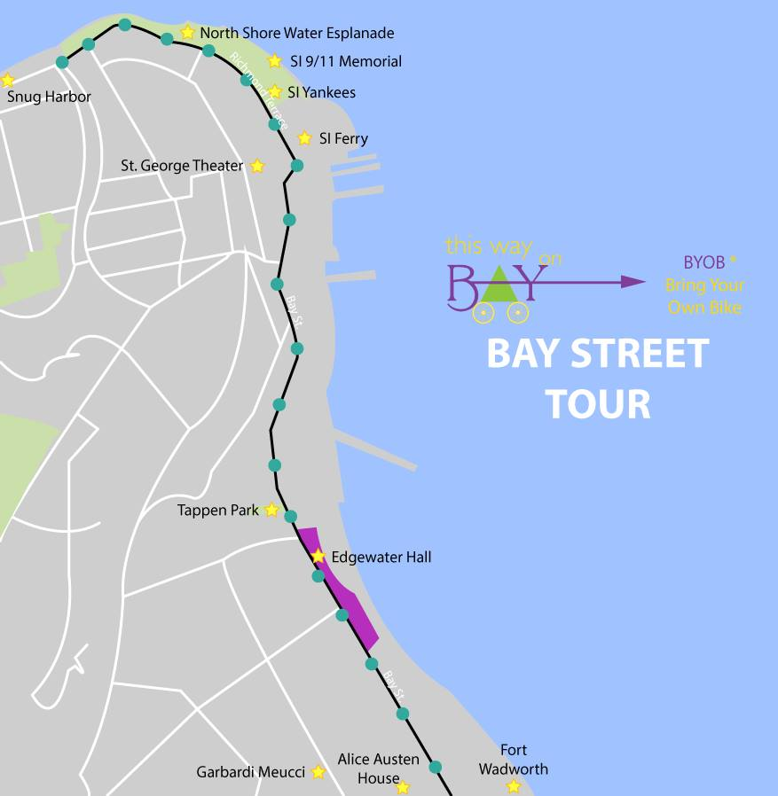 Bay Street Bike Tour  | This Way on Bay