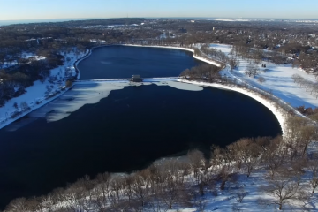 Drone Footage After Winter Storm Jonas