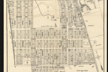 Map of Prohibition Park, Staten Island
