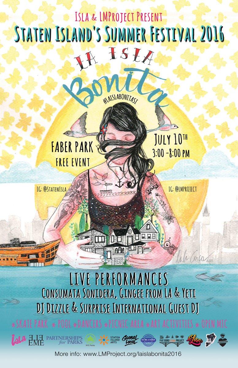 Staten Island Isla Bonita 2016
