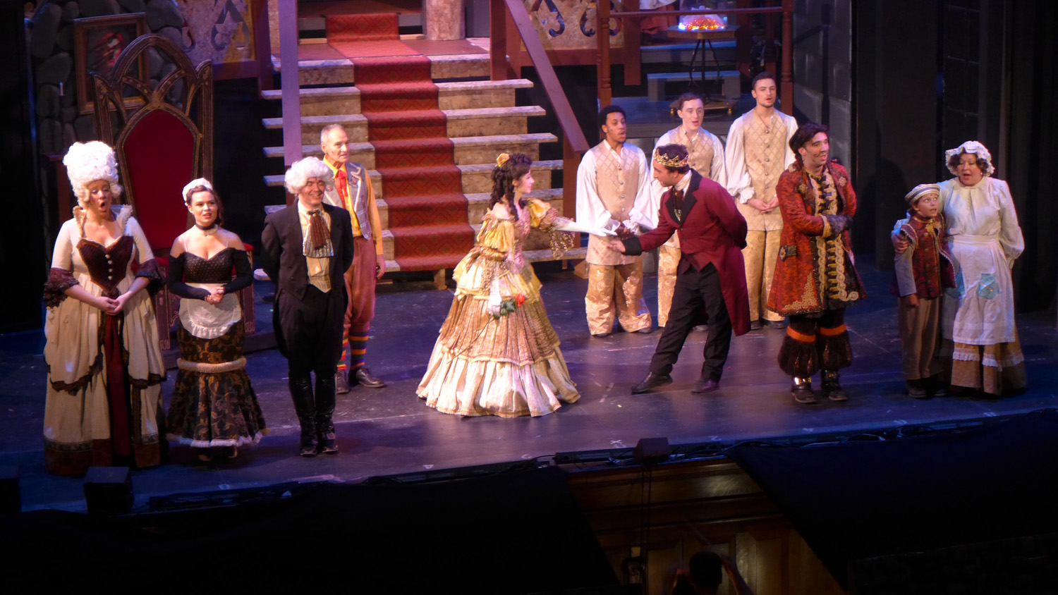 In The Wings' Beauty and the Beast at Snug Harbor Cultural Center