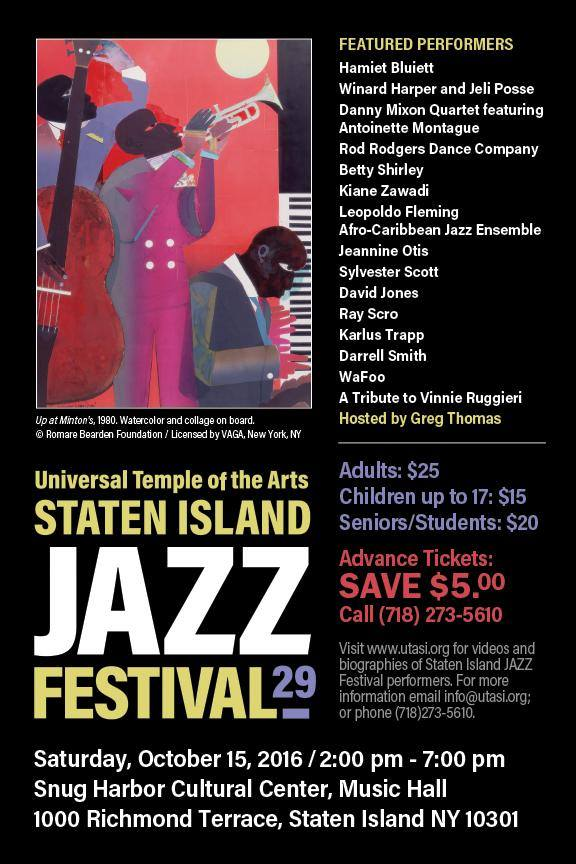 Staten Island Jazz Festival 2016