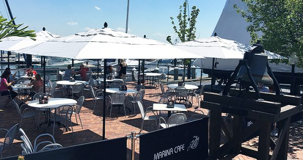 The Marina Cafe Was One Of The First Restaurants To Open Its Doors On The South  Shore Waterfront Back In 1980. Nearly 37 Years And One Superstorm Later, ...