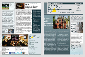 This Way on Bay Print