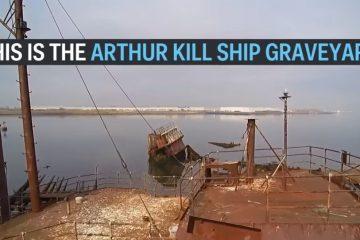 History of the Arthur Kill Ship Graveyard